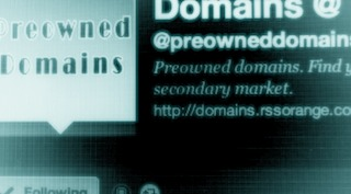 pre owned domains